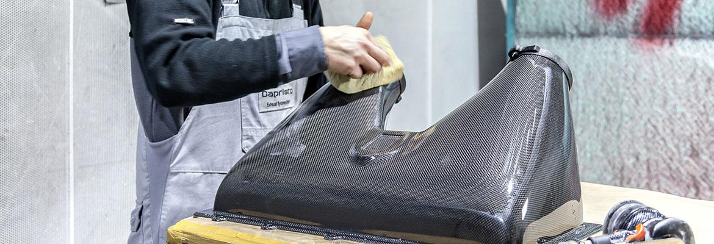 Carbonveredelung in Perfektion für die unterschiedlichsten Fahrzeugteile. by Car Ennoblement